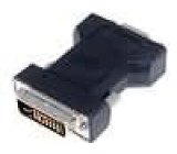 Adaptér D-Sub 15pin HD zásuvka, DVI-I (24+5) vidlice