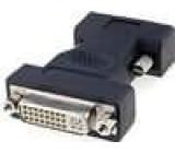 Adaptér D-Sub 15pin HD vidlice, DVI-I (24+5) zásuvka