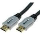 Kabel HDMI 1.4 HDMI vidlice z obou stran 3m
