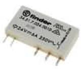 34.51.7.024.001 Relé elektromagnetické SPDT Ucívky:24VDC 6A/250VAC 6A/30VDC