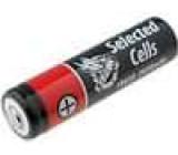 Nabíjecí baterie Li-Ion 2600mAh 3,7V UR18650F SANYO PCB