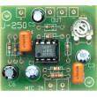 Elektronická stavebnice předzesilovače pro elektretový mikrofon