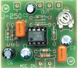 ZSM-250 Elektronická stavebnice předzesilovače pro elektretový mikrofon