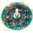 ZSM-34 Elektronická stavebnice regulátoru osvětlení max 100W