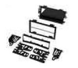 Rámeček pro autorádo 2Din/2ISO-set Hummer, Suzuki