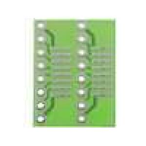 Univerzální pl.spoj s přechodem SO8-SO16 na DIP8-DIP16