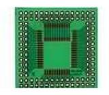Univerzální plošný spoj pro IO QFP44...68p 40x40mm