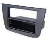 Rámeček pro autorádio Seat Altea 2004->, Seat Toledo 2004 černý