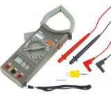 Číslicový klešťový měřič Ø:54mm LCD 3,5místný 0-.750°C