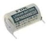 Baterie lithiové 1/2AA CR14250 3V Vývody 2-pinové 900mAh Sanyo