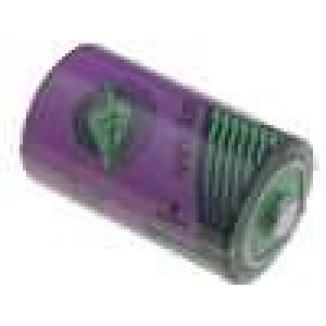 Baterie lithiové (LTC) 1/2AA 3,6V průměr 14,7x25,2mm 1100mAh