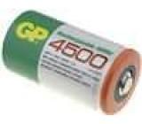 Aku baterie Ni-MH D 1,2V 4500mAh