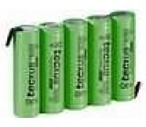 Aku baterie Ni-MH AA 6V 2,1Ah Vývody pájecí očka