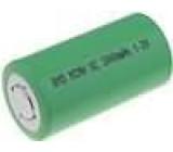 Aku baterie Ni-MH SubC 1,2V 3Ah průměr 23x44mm