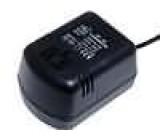 Měnič napětí - síťový adaptér USA 77x54x61mm 75VA 230V AC 110V