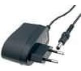 Spínaný zdroj 15V 400mA konektor 5,5/2,1mm 6W zásuvkový