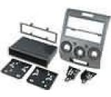 Rámeček pro autorádio 2 DIN / 2 ISO Ford Ranger 2006->, Mazda BT-50 2006-> stříbrná