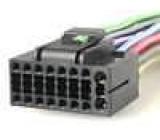 Konektor s vodiči JVC 16PIN KD LX 10R, KD LX 33R, KD LX 3R, KD MX 2800R, KD MX 2900R, KD MX 3000R, KD MX 3000RB