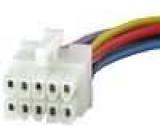 Konektor s vodiči pro autorádio Philips 10 PIN DC 316 DC 343 DC 346