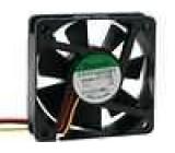 Ventilátor 5VDC 60x60x15mm 30,6m3/h 32dBA kuličkové 1W