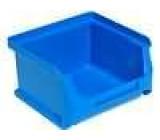 Zásobník dílenský 102x100x60mm modrá plast