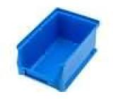 Zásobník dílenský 102x160x75mm modrá plast