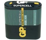 Baterie GP Supercell 4,5V (plochá)
