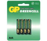 Baterie GP Greencell R03 (AAA mikrotužka) blistr