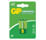 Baterie GP Greencell 9V blistr