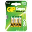 Baterie GP Super Alkaline LR03 (AAA mikrotužka)