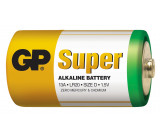 Baterie GP Super Alkaline LR20 (D, velké mono)