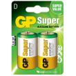 Baterie GP Super Alkaline LR20 (D, velké mono) bl.
