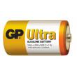 Alkalická baterie GP Ultra LR20 (D), 2 ks ve fólii