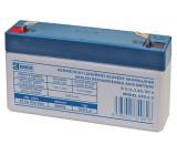 6V baterie - akumulátor SLA 1,3Ah
