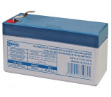 12V baterie - akumulátor 1,3Ah