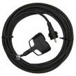 1 fázový prodlužovací kabel 3x1,5mm 2 zásuvky 10m