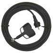 1 fázový prodlužovací kabel 3x1,5mm 2 zásuvky 20m