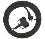 1 fázový prodlužovací kabel 3x1,5mm 2 zásuvky 25m