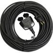 1 fázový prodlužovací kabel 3x1,5mm 2 zásuvky 30m