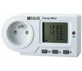 Digitální měřič spotřeby el. energie, velký displej, LED indikace