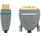 Bandridge DVI - HDMI kabel, 2m, BVL1102