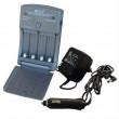 Multifunkční nabíječka baterií AA/AAA, AC 230V/DC 12V, max. 600mA