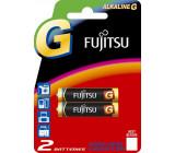 Fujitsu alkalická baterie LR03/AAA, blistr 2ks