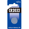 Fujitsu knoflíková lithiová baterie CR2032, blistr 1ks
