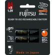 Fujitsu přednabitá baterie BLACK R06/AA, blistr 2ks