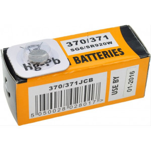 JCB hodinkové baterie typ 370/371 1ks
