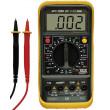 multimetr, test diody, test baterie, ochrana proti přetížení, bzučák