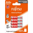 Fujitsu Universal Power alkalická baterie LR03/AAA, blistr 4ks