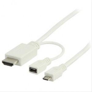 Bandridge VL MHL kabel 1m