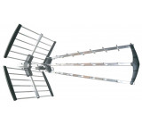 venkovní DVB-T anténa, 39dB, UHF, 21. - 60. kanál. LTE/4G filtr